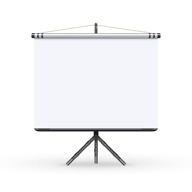 Ecran De Reunion Conference Tableau Blanc Presentation Avec