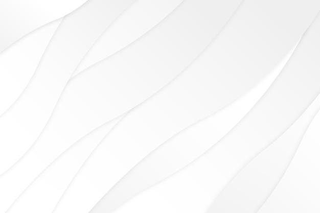 Écran De Veille De Texture élégante Blanche Vecteur gratuit