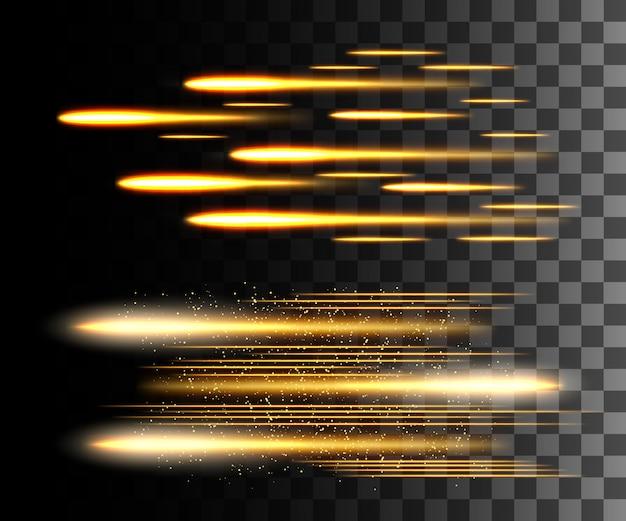Effet Transparent Blanc Lueur, Lumière Parasite, Explosion, Paillettes, Ligne, Flash Solaire, étincelles Et étoiles. Pour L'art De Modèle D'illustration, Pour Noël Célébrer, Rayon D'énergie Flash Magique Vecteur Premium