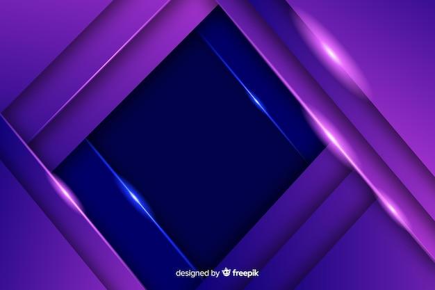 Élégant fond polygonale sombre Vecteur gratuit