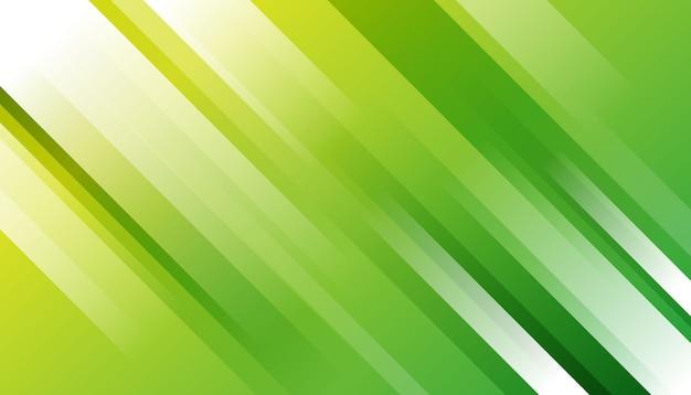 Élégant Rayé Vert Vecteur gratuit