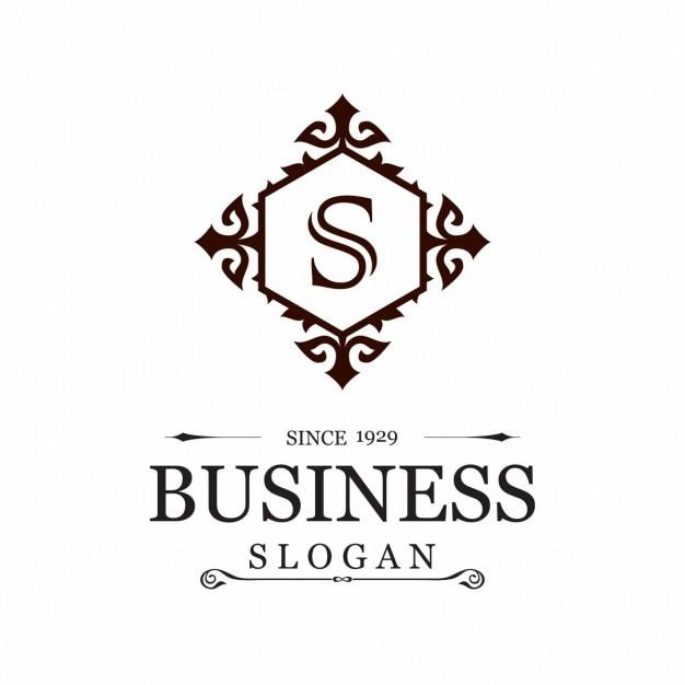 Elégant slogan business s Vecteur gratuit