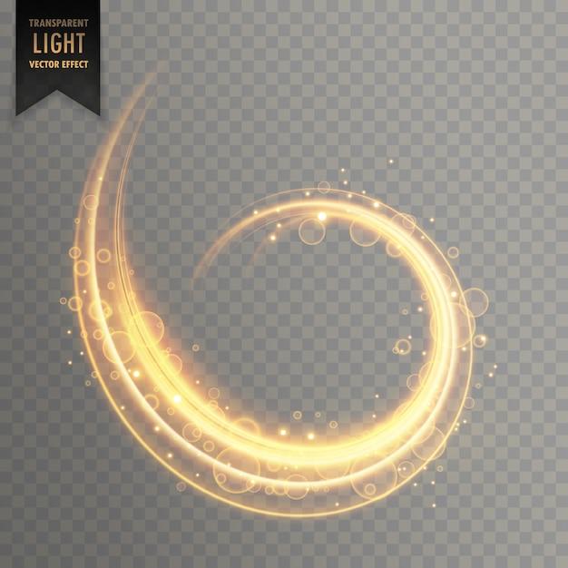 Élément de vecteur effet de lumière transparente Vecteur gratuit