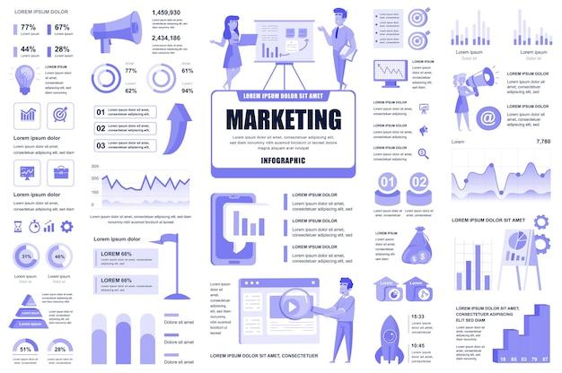 Éléments Infographiques Marketing Et Promotionnels ...