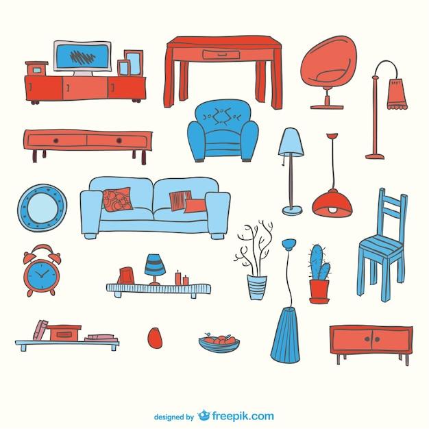 L ments vectoriels de meubles gratuit t l charger des - Trouver des meubles gratuits ...