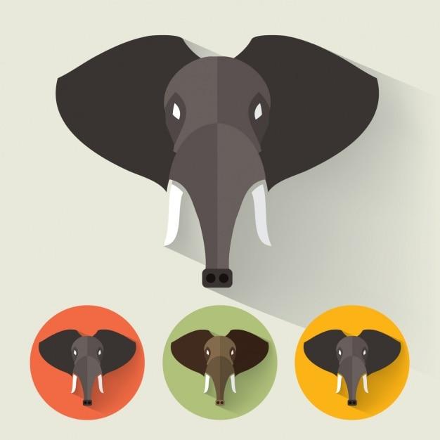 Elephant conçoit collection   Télécharger des Vecteurs gratuitement 05771edd554