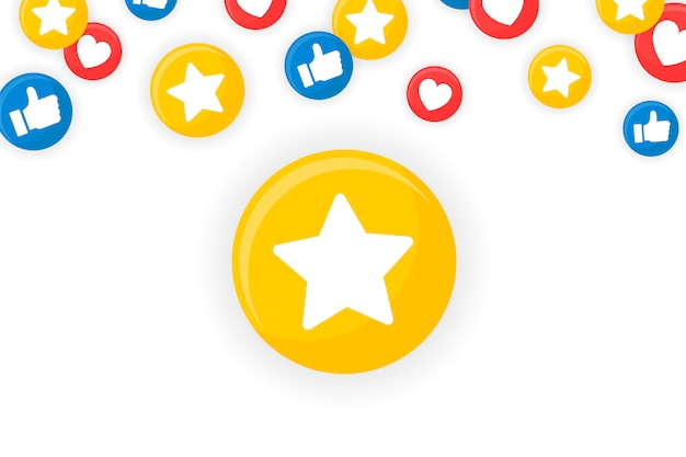 Emoji cadre encadré Vecteur gratuit