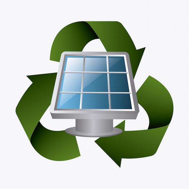 Energie Verte Et écologie Vecteur gratuit