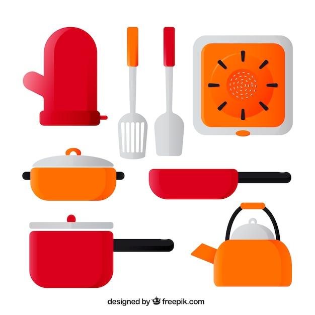 Ensemble de casseroles et autres ustensiles de cuisine for Casseroles et ustensiles culinaire