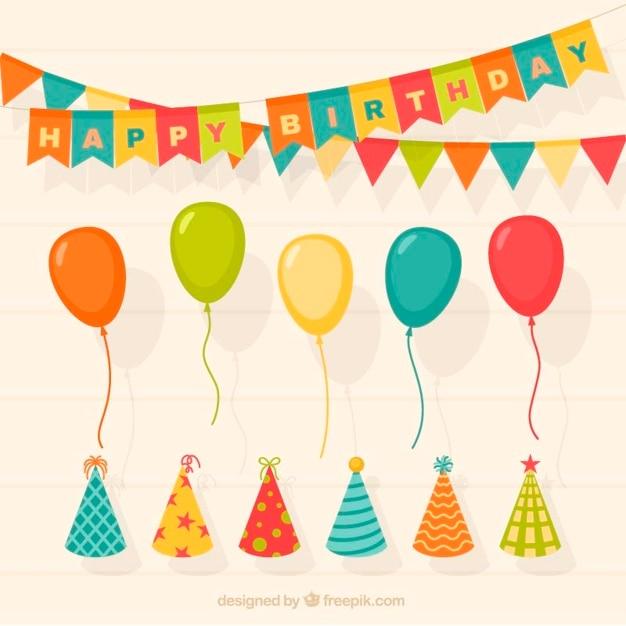 recherche de véritables super mignon meilleure valeur Ensemble de décoration d'anniversaire avec des ballons et ...