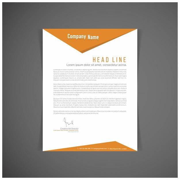 Ensemble d'identité d'entreprise ou kit pour votre entreprise modèles de lettre format vectoriel lieu éditable pour le texte Vecteur gratuit