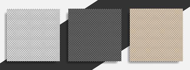 Ensemble De Modèle Abstrait Triangle Sans Soudure Vecteur Premium