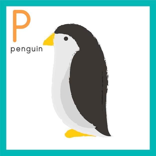Ensemble de style de dessin illustration de la faune Vecteur gratuit