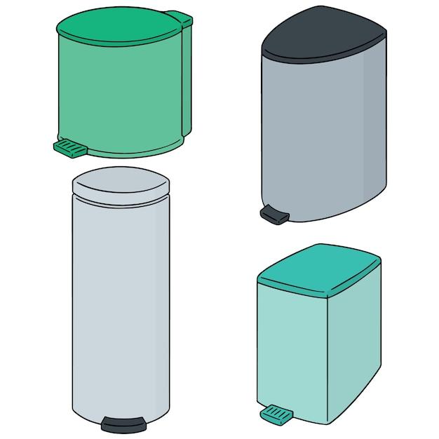 Ensemble de vecteurs de recyclage Vecteur Premium