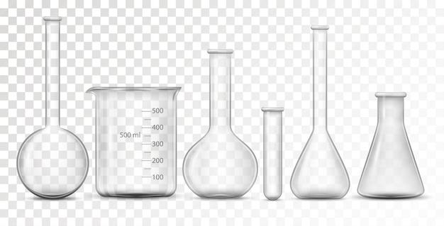 Equipement Pour Laboratoire Chimique Vecteur Premium