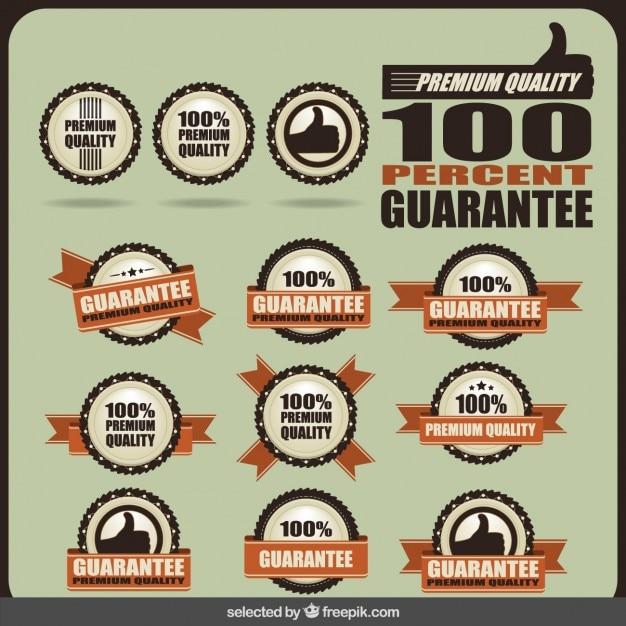 Étiqueter premium quality Vecteur gratuit
