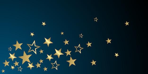 Étoiles de paillettes de noël Vecteur Premium