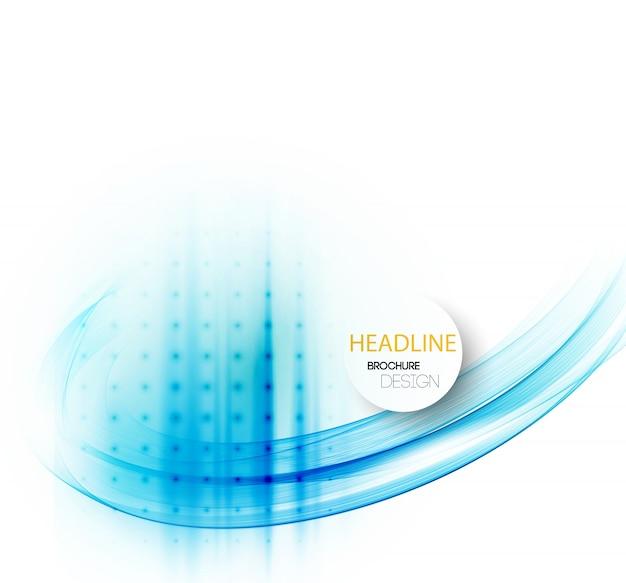 Expérience En Affaires Abstraite. Conception De Brochure Modèle Vecteur Premium