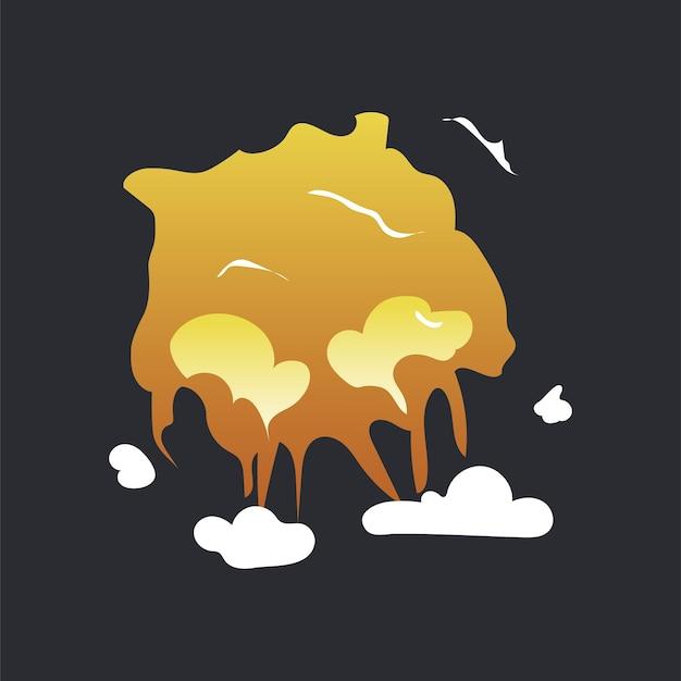 Explosion Vecteur gratuit