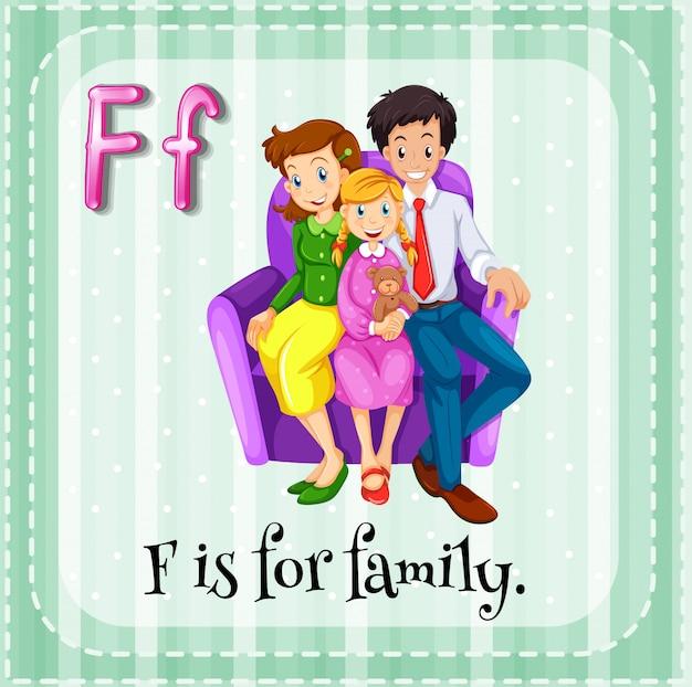 Une famille Vecteur gratuit