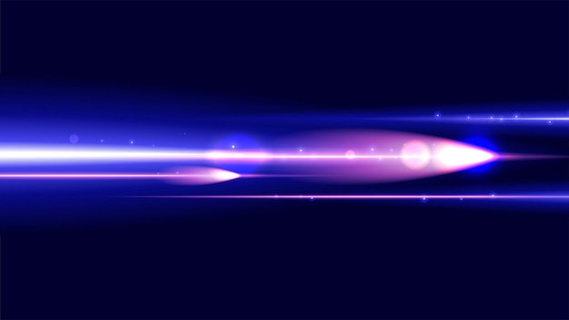 Fantasy light speed background Vecteur Premium
