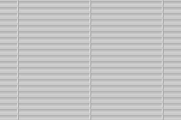Fenêtre à volets roulants fermée Vecteur Premium