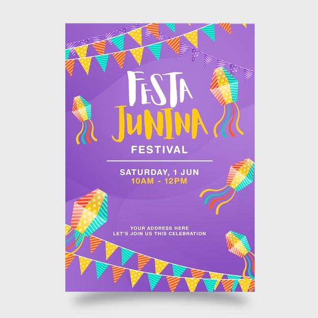 Festa junina Vecteur Premium