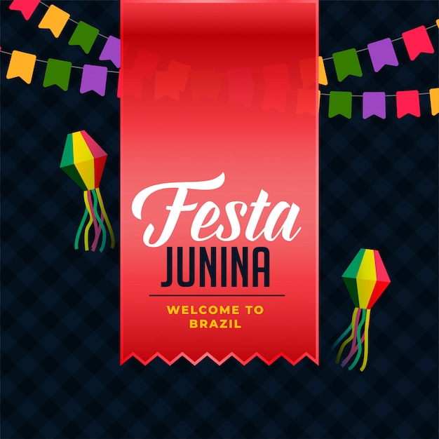 Festa latina america junina Vecteur gratuit