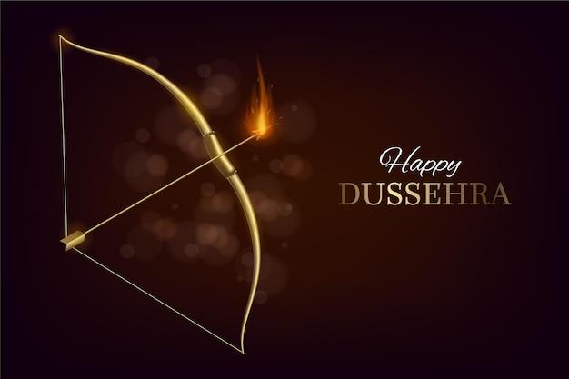 Festival De Dussehra Vecteur gratuit