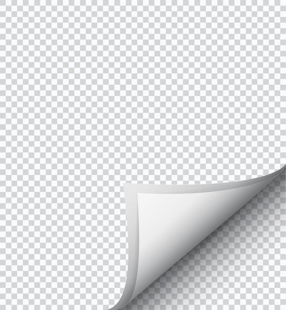 Feuille de papier à damier blanc, Vecteur Premium