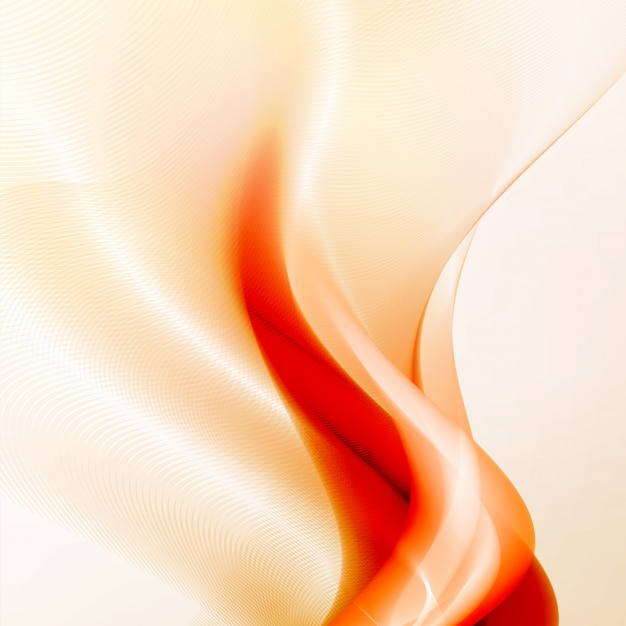 Flammes d'incendie abstraites Vecteur Premium