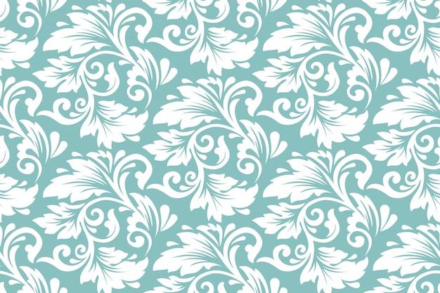Fleur Sans Soudure De Fond. Texture élégante Pour Les Arrière-plans. Vecteur gratuit