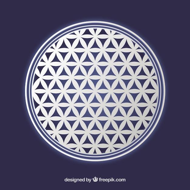 Fleur De Symbole De La Vie Telecharger Des Vecteurs Gratuitement