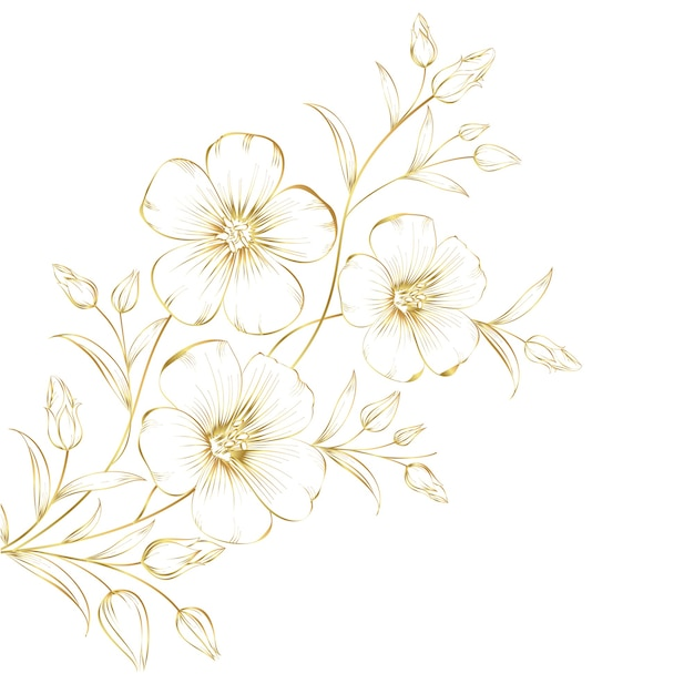 Fleurs De Cerisier En Fleurs. Vecteur gratuit
