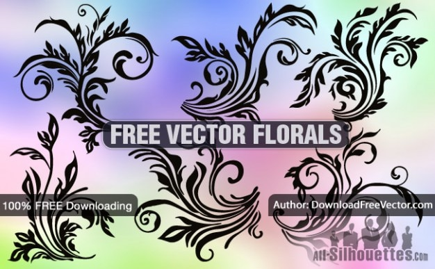 Fleurs vectoriel gratuit