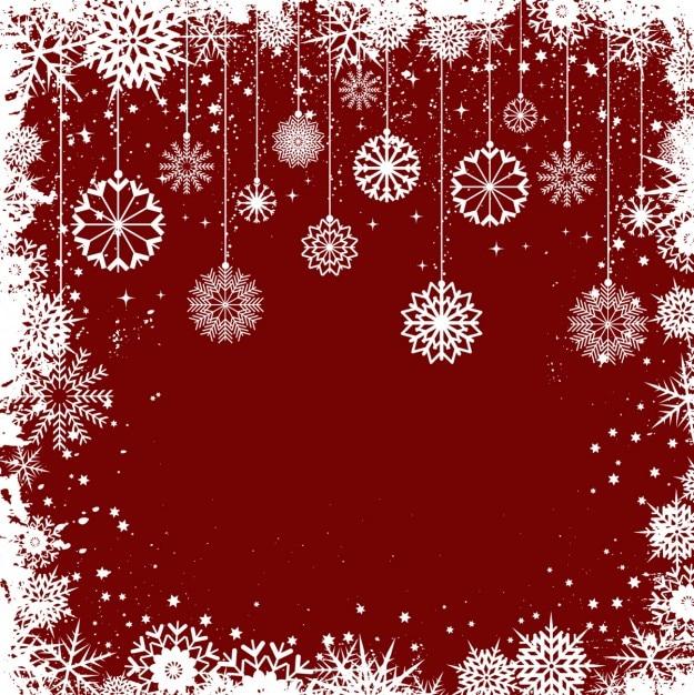 Flocons De Neige De Noël Fond De Trame Télécharger Des