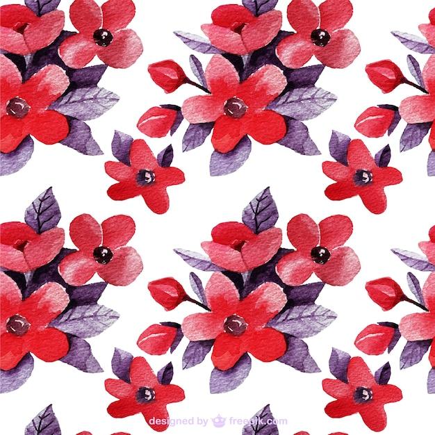 floral background dans les tons rouge et violet t l charger des vecteurs gratuitement. Black Bedroom Furniture Sets. Home Design Ideas