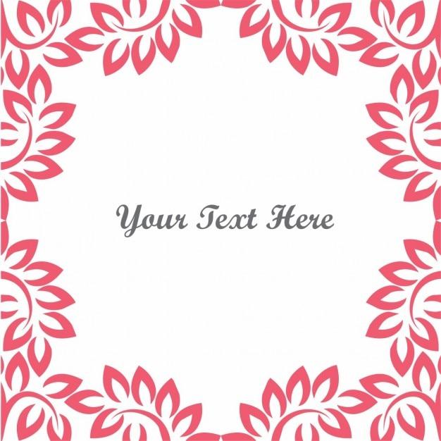 Floral rouge lieu de fond pour le texte t l charger des for Fond pour les photos