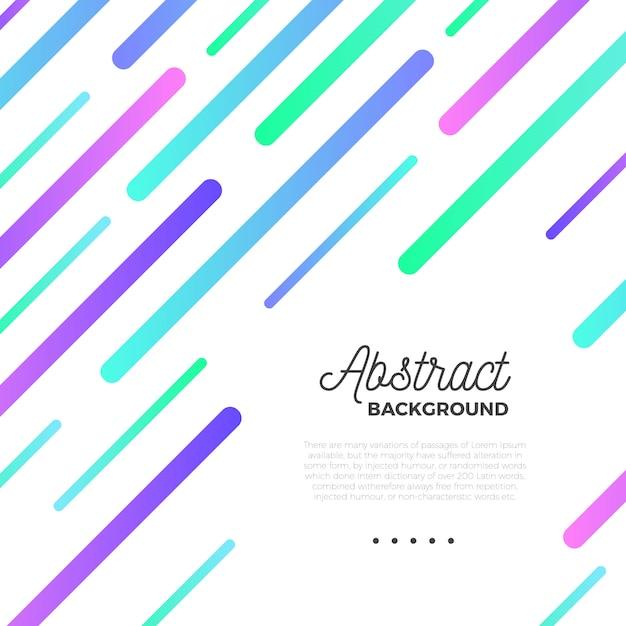 Fond abstrait coloré Vecteur gratuit