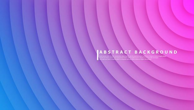Fond abstrait dégradé de cercle radial Vecteur Premium