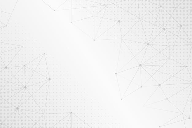 Fond Abstrait Demi-teinte Vecteur Premium