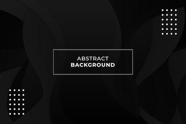 Fond Abstrait Forme Ondulée Colorée Vecteur Premium