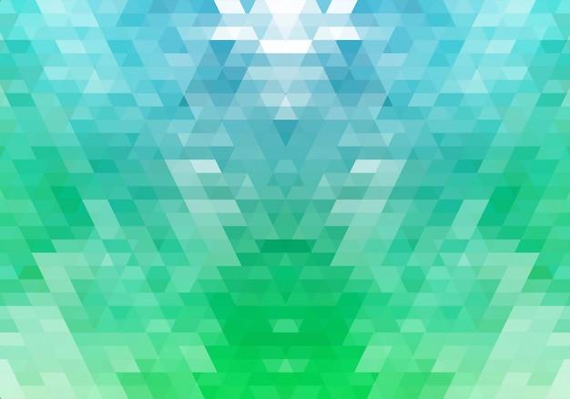 Fond Abstrait De Formes Géométriques Colorées Vecteur gratuit