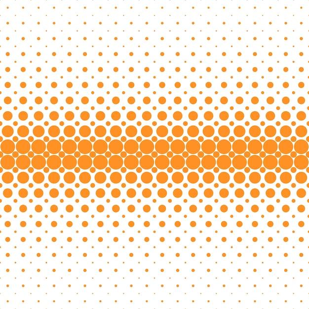Fond Abstrait Geometrique De Point De Trame De Demi Teintes Illustration Vectorielle De Cercles Orange Sur Fond Blanc_1373598 on Ben Day Dots