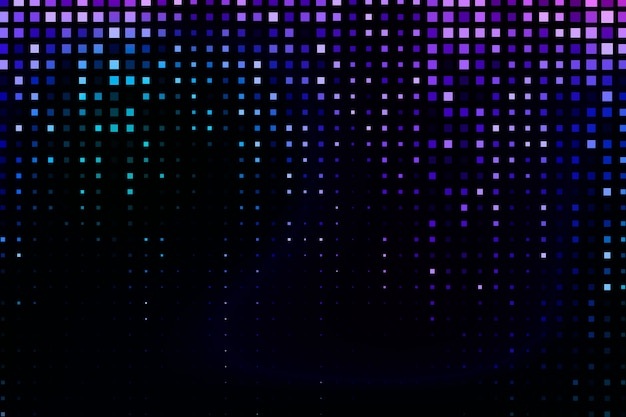 Fond abstrait pixel pluie Vecteur gratuit