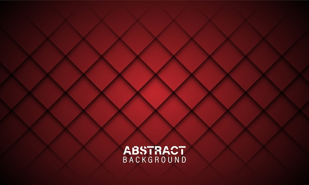 Fond abstrait rouge foncé Vecteur Premium