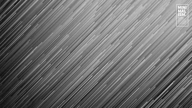 Fond abstrait vector lignes de flux dynamiques Vecteur Premium