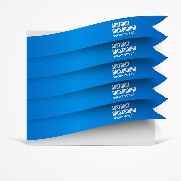 Fond abstrait vectoriel. couleur de l'étiquette Vecteur gratuit