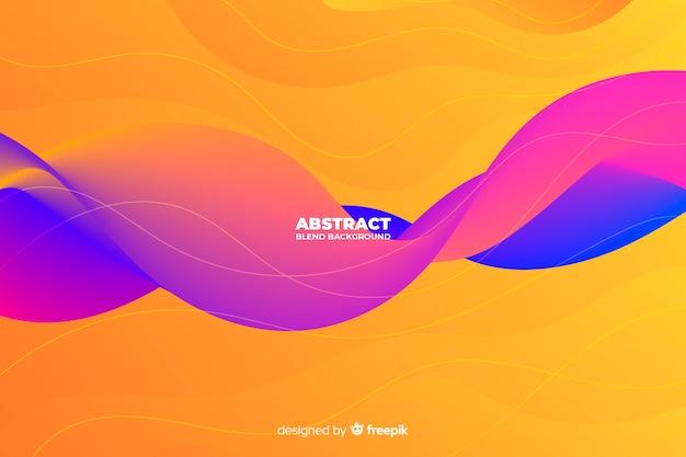 Fond abstrait. Vecteur gratuit