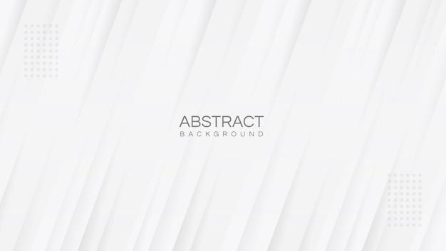 Fond D'affaires élégant Blanc Abstrait Minimaliste Avec Des Rayures Diagonales Modernes Minimales Vecteur Premium